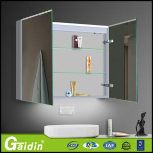 China Bathroom Medicine Cabinet with Mirrored Doors on sale