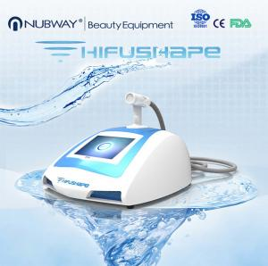 China portable HIFUSHAPE ultrasound fat reduction machine for body shaping on sale