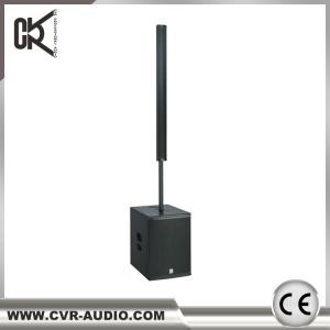 China Active Wedding Column System Line Array Speaker 12 Powered Subwoofer With Dsp Amp on sale