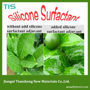 China Silicone spray adjuvant for applying herbicides, insecticides, miticides and fungicides on crops on sale