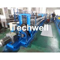 Coil Thickness 0.18-0.4mm, High Strength Steel Sheet Horizontal Corrugated Sheet Roll Forming Machine