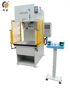 China 25T C Frame Automatic Hydraulic Press , High Speed Hydraulic Press For Bearing Assemble on sale