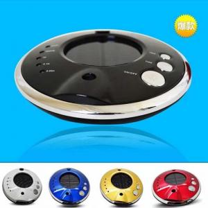 China Solar powered car air purifier ASF-003 lonizer lonizzatore automobile device UFO shape on sale