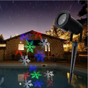 China 10W LED outdoor projector Christmas pattern holiday lighting christmas decorations on sale