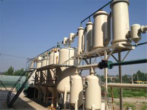 China Waste Oil Refinery Plant on sale