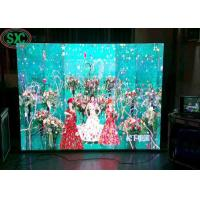 High Brightness Full Color SMD Video Wall  indoor P6  768x768mm iron cabinet 3 years warranty