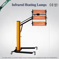 3X1100W Auto Body Repair Tools , Infrared Paint Drying Lamp 304 Stainless Steel Material
