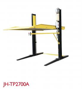 China Two Post Portable Auto Lift High Adapter Durable Rise/Drop Time 60s/50s on sale