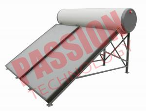 China Flat Plate Solar Powered Water Heater on sale