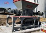 Two Shaft Industrial Plastic Shredder Machine Shredding Machine For Farm Waste