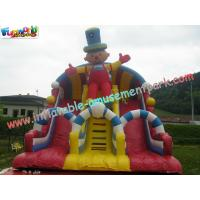 Outside Inflatable Commercial Inflatable Slide 8.5L x 5W x 6.5H Meter for Children, Adults