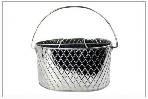 China Stainless steel Ice Tools & Buckets, cooler for bar, freezing wine holder, ice better, drinks tub ,Six - lattice wine on sale