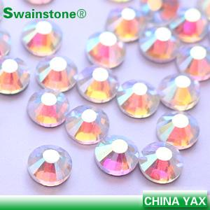 China China swainstone rhinestone color chart crystal stone, flat back crystal stone, wholesale crystal stone for garment on sale