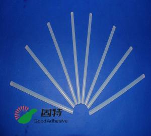 China Light White Transparent Hot Melt Adhesive Stick  , Solid High Strength Hot Glue Gun Sticks on sale