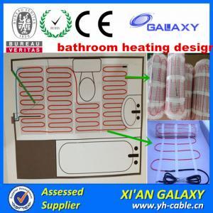 China 150w Heating Floor Bathroom Heating Mat on sale