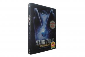 China 2018 newest Star Trek Discovery Season One Adult TV series Children dvd TV show kids movies hot sell on sale