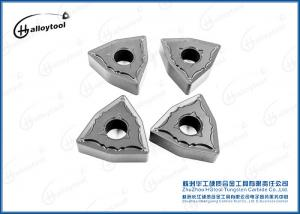 China WNMG080408 Indexable Tungsten Carbide Inserts For CNC Machining Tool And External Turning Tool Holder on sale