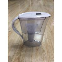 China ABS / AS White Countertop Alkaline Water Purifier Pitcher High PH Natural Filtration System on sale