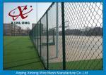 屋外の運動場50 * 50mmのための織り方様式のダイヤモンドの金網の塀