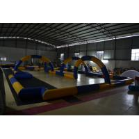 China PVC tarpaulin Inflatable Sports Games Large runway Customized on sale