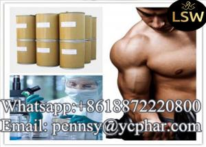 China Muscle Building Supplements Raw Anabolic Steroids Methyltrienolone Light Yellow Crystalline Powder CAS 965-93-5 on sale