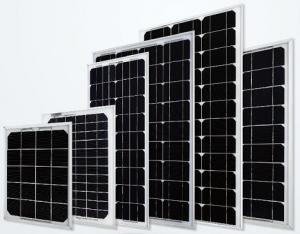 China 5W/10W/15W/20W/30W/40W/50W/60W/70W/80W MONO solar panels, A Quality, Customizable on sale
