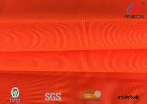 China Safety Vest Orange Reflective Fabric Material FDY54D+FDY54D ANSI 107 Certified on sale