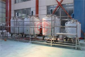 China Volumetric Carbonated Drink Production Line Small Capacity Fully Automatic on sale