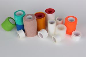 China Zinc Oxide Adhesive Plaster Medical Bandage Tape 5m 10m  Length on sale