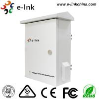 Intelligent Cctv Camera Video Converter Transmission / Power Cabinet Cold Rolling Plate Material