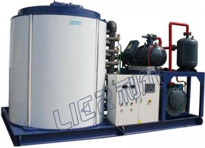 China 30T/D Flake Ice Making Machine , Water-cooled R404A 1.8mm Ice Thickness on sale