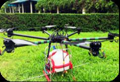 China Agricultural Spray Drones,uavs 10L Container with UAV Self Stabilization System on sale