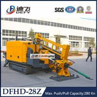 Geotechnical Drilling Rig 28Tons Pipeline Horizontal Directional Drilling Rig DFHD-28Z