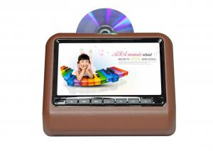 China Headrest Dvd Player Brown 9 Anti - Shock Multi - Language Pal/Ntsc Active Portable With Dual IR Transmitter on sale