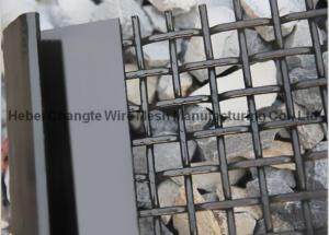 China High Carbon Steel Self Cleaning Screen Mesh For Sand & Gravel Vibrating Screen on sale