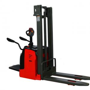 China 4500mm Electric Stacker Truck on sale