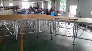 China Wholesale Aluminum Portable Stage For Swimming Pool on sale