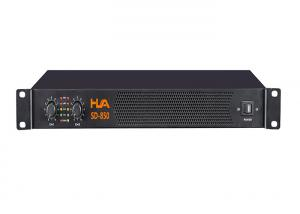 China 850 Watt Stereo Power Amplifier Active Double Channel 220v - 240v on sale