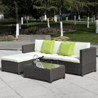 2017 wicker outdoor furniture Rattan sofa furniture /rattan garden furniture sectional sofa