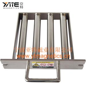 China Magnetic Grate Separator With Hand on sale