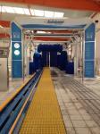 Seguridad de la alta exactitud del sistema del coche hidráulico del túnel de Autobase que se lava