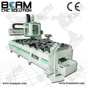 China PTP table design cnc router with gang drill for furniture making BCMS1330 on sale