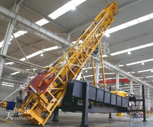 China Reverse Circulation Coal Mining Exploration Drilling Rig , BS Rod CMR1000A on sale