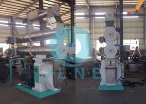 China 110kw Farm Fish Feed Pellet Machine / Fish Feed Pellet Mill 420mm Ring Die supplier