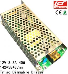 China Triac Dimmable LED Power Supply Constant Voltage IP20 CE RoHS Certificated on sale
