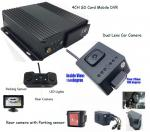 4G GPS Car Taxi Mobile DVR solution to View Passengers inside with Rear view Parking sensor Camera