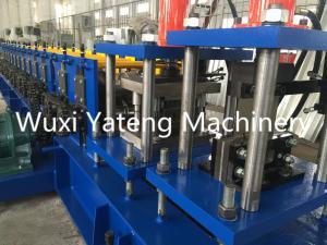 China petit pain 3phase en acier galvanisé par tension formant la machine, machine de volet de roulement avec l'alimentation servo on sale