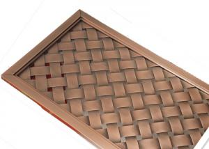 China Architecture Outside Design Concert Hall Metal Facade Fabric With Antique Copper on sale