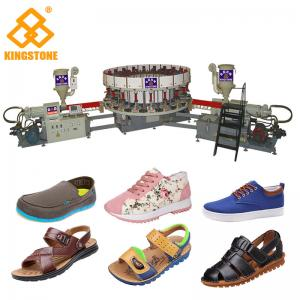China Men Sandals Direct Injection Pvc Mould Making Machine For Canvas Shoes Soles on sale