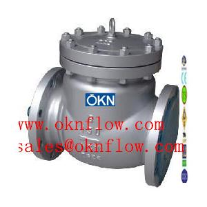 China 14  WCB/WCC/WC1 flanged check valve/sales@oknflow.com on sale